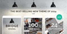 Buy Bridge - Creative Multipurpose WordPress Theme by QODE on ThemeForest. BRIDGE is a responsive retina multipurpose WordPress theme perfect for just about anyone. Whether you are a creative. Wordpress Theme Design, Premium Wordpress Themes, Wordpress Template, Wordpress Plugins, Texture Web, Seo Digital Marketing, Design Typography, Template Site, Templates