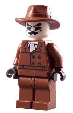 Rorschach Custom LEGO Figure, via Flickr.