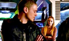 A Life in Random Moments Captain Canary, Leonard Snart, Michael Scofield, Dominic Purcell, Dc Legends Of Tomorrow, Wentworth Miller, The Flash, Justice League, Supergirl