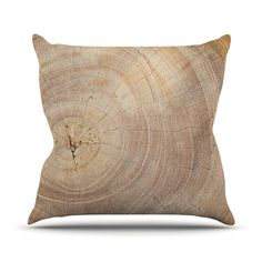 Bring the serenity of nature into your home with the help of the Knotty And Nice Throw Pillow. Featuring a high-quality image of a tree's bark, this piece of décor instantly transports you to a wooded ...  Find the Knotty And Nice Throw Pillow, as seen in the The Raw Edge of Modern Collection at http://dotandbo.com/collections/the-raw-edge-of-modern?utm_source=pinterest&utm_medium=organic&db_sku=113663