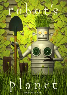 It is a gardener robot