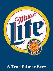 "Miller Lite BeerPilsner Drink Car Bike Bumper Sticker Decal 2 Pack of 2/"" X 2.5/"""