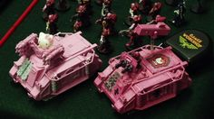 Of course Hello Kitty's tank is pink!