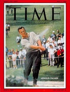 Golf Clubs Women Arnold Palmer Golf Copyright Time Magazine - Mad Men Art: The Vintage Advertisement Art Collection Buy Golf Clubs, Ladies Golf Clubs, Golf Magazine, Time Magazine, Magazine Covers, Arnold Palmer Golf, Golf 7 R, Masters Golf, Vintage Golf