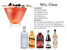 Christmas Cocktails | Midnight Mixologist