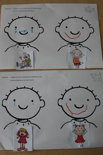 Draw the emotions Emotions Preschool, Emotions Activities, Body Preschool, Special Education Activities, Preschool Arts And Crafts, Craft Activities For Kids, Infant Activities, Toddler Preschool, Sequencing Pictures