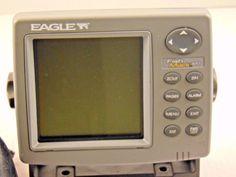 Eagle Fish Mark 320 Fishfinder Depth Fish Finder Sonar Navigation LCD Screen #Eagle