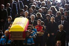 ADOLFO SUÁREZ, FOTOGRAFÍAS. Último adiós a Adolfo Suárez