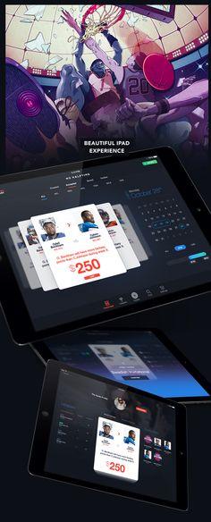 No Halftime - Fantasy Sports Matchups on App Design Served