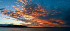 Sunset at Myall Lake