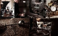 A coffee roasting companyin Lugano, Switzerland which is managed by the second generation of the family.