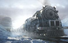 The Steampunk Train (which needs to be wound up every now and then) from the Video Games - Syberia I and II