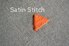 Satin stitch is widely used as a fill stitch. The name comes from the smooth surface similar to the surface of the fabric called satin. The satin stitch consists of parallel usually quite long stitches. There are two possibilities to make the satin stitch. For the first method, you simply mark the shape of your area to stitch and embroidery it following the marks. For the second method, you pre-stitch your shape with a line stitch like back stitch or split stitch and embroider over this. The…