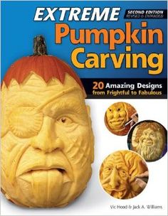 Extreme Pumpkin Carving, Second Edition Revised and Expanded: 20 Amazing Designs from Frightful to Fabulous (Fox Chapel Publishing) How to Use Relief-Carving Techniques to Create Realistic Features Pumpkin Carving Kits, Amazing Pumpkin Carving, Pumpkin Carving Patterns, Pumpkin Art, Best Pumpkin, Pumpkin Carvings, Carved Pumpkins, Pumpkin Ideas, Funny Pumpkin Faces