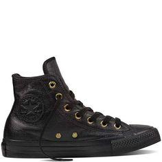 Prezzi e Sconti: #Chuck taylor all star leather  fur Black/black/black  ad Euro 74.99 in #Converse #Converse