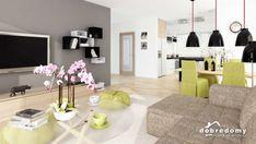 Telimena II 1G - Dobre Domy Flak & Abramowicz Contemporary, Home Decor, Houses, Projects, Decoration Home, Room Decor, Home Interior Design, Home Decoration, Interior Design