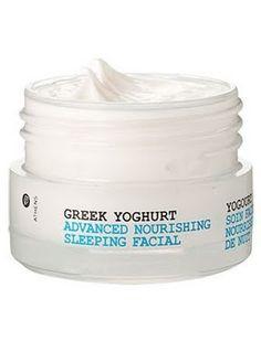Korres Greek Yoghurt Advanced Nourishing Sleeping Facial : Lucky Magazine