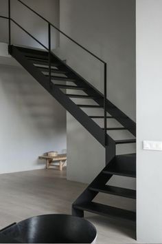 Awesome 43 Vintage Minimalist Home Stair Design Ideas That Look More Cool For Future Home Interior Design Blogs, Swedish Interior Design, Swedish Interiors, Interior Styling, Minimalist Living, Minimalist Design, Minimalist Interior, Minimalist Bedroom, Home Stairs Design