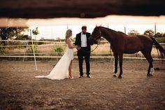 μοντερνα νυφικα konstantinos melis by laskos Wedding Photoshoot, Elegant Wedding, Fairytale, Horses, Wedding Dresses, Fashion, Fairy Tail, Bride Dresses, Moda
