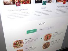 Kvadrat Pizza Website
