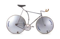 On January 23, 1984, Francesco Moser rode this bicycle to a new hour record.