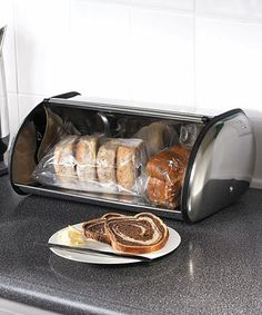 Another great find on #zulily! Stainless Steel Bread Bin by Polder #zulilyfinds