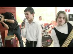 Jewish music star Avraham Fried, sings with children with special needs from the Shalva institute in Israel.
