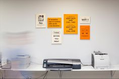 Signage for Idep Barcelona by Querida , via Behance