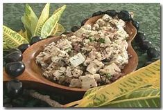 Tofu Poke - I first saw this Tofu Poke dish on the menu of one of our long time Waikiki restaurants. What a great idea! It has since become such a popular dish that many of our supermarkets have their own versions at their seafood fish counters.  Get this recipe by clicking on the link below: http://ow.ly/oi4n301pmAF
