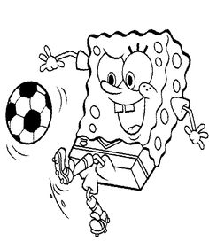 make your own coloring book. print this 'cover' and a dozen or so ... - Spongebob Coloring Pages Boys