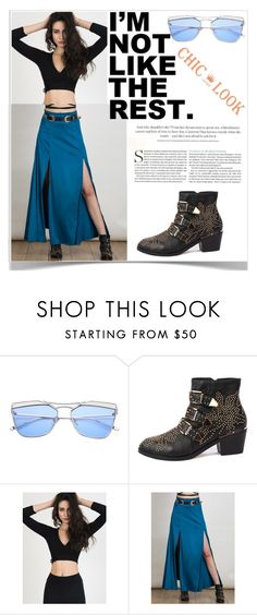 """6#Chiclookcloset"" by kiveric-damira ❤ liked on Polyvore"