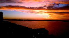 Por do sol em Porto Alegre