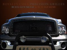 With my custom emblem!  Yes!   Dodge Ram 2500/3500 2003-2005 RC1 Grille Factory Color Match w/ RC1 Emblem | 2003-2005