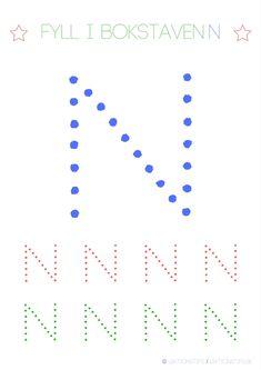 Lär dig skriva hela alfabetet med dessa färgglada bokstäver i färgerna röd, grön och blå – Lektionstips Activities For Kids, Diagram, Letters, Teaching, Education, Montessori, Bulgaria, Children, Inspiration