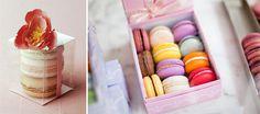 macarons para regalar en la boda