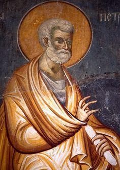 СВЯТОЙ АПОСТОЛ ПЁТР. Orthodox Christianity, Religious Art, Byzantine, Cathedral, Saints, Statue, Painting, Inspiration, Christianity
