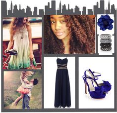 """""""Love Blue"""" by lexie-is-awesome on Polyvore"""