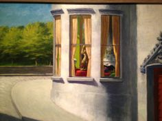 "Edward Hopper (1882-1967), ""August in the City"" - Norton Museum of Art ~ West Palm Beach, Florida, USA"