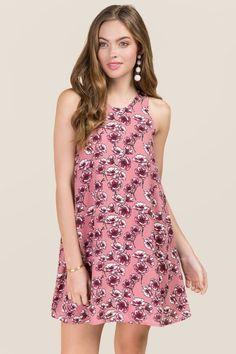 Elana Floral Shift Dress