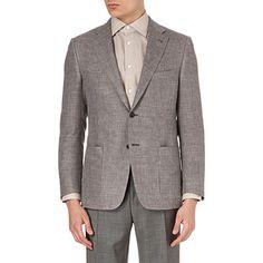 CORNELIANI - Single-breasted twill suit jacket | selfridges.com