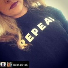 #repeal #repealthe8th T Shirts For Women, Instagram, Tops, Fashion, Moda, Fashion Styles, Fashion Illustrations
