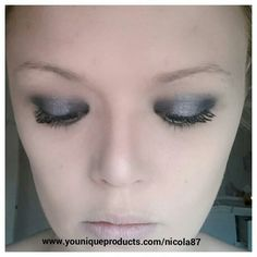Younique mineral eye pigments! 'Feisty' and 'devious'