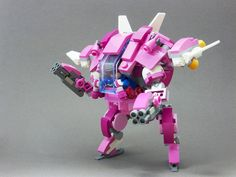 D.va made from LEGOs #Overwatch