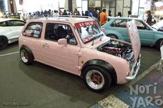 Grinding Pistons | connorcroak: SR20DET powered Nissan Pao at...