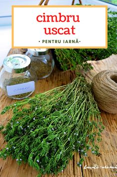 Herbs, Kitchen, Food, Home, Canning, Romanian Food, Cooking, Meal, Essen