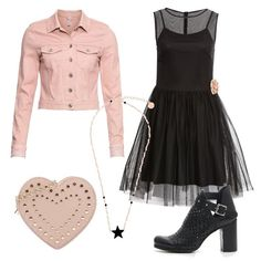 f76591039786 Romantic rock al party  outfit donna Rock per serata fuori