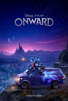 """Pixar has revealed their first look at the upcoming fantasy world of """"Onward"""". We get a look at the characters of Tom Holland, Chris Pratt and Julia Louis-Dreyfus and the lands. 2020 Movies, Pixar Movies, Sci Fi Movies, Movies To Watch, Movie Tv, Movies Free, Animation Movies, Pets Movie, Movie Theater"""