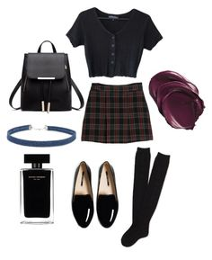 """""""Untitled #51"""" by hippiessunflower on Polyvore featuring MANGO, Aéropostale, Forever 21 and Narciso Rodriguez"""