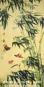 Backdrop OR013 Oriental Bamboo Panel 8