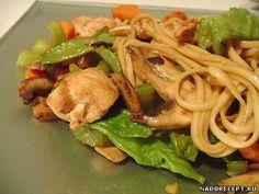 Китайская кухня, рецепт соусов для салатов на основе майонеза